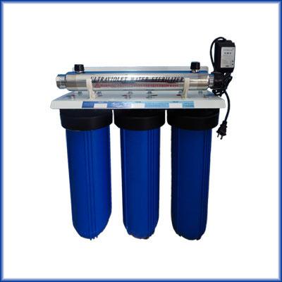 Purificador y filtro de agua at3 uv bb20 - Filtros para grifos de agua ...