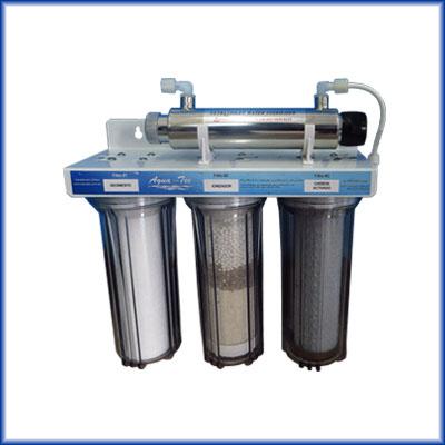 Purificador de agua at3 uv ss 10 con un tercer cartucho - Filtro de agua precio ...